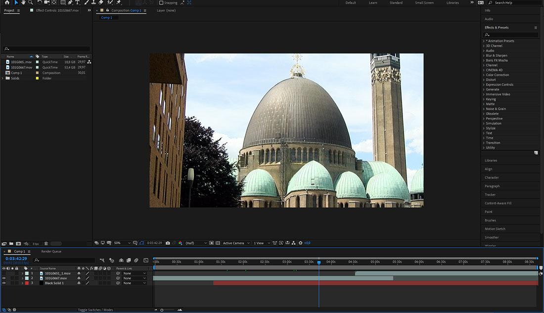 Een voorbeeld van een programma om video's te bewerken