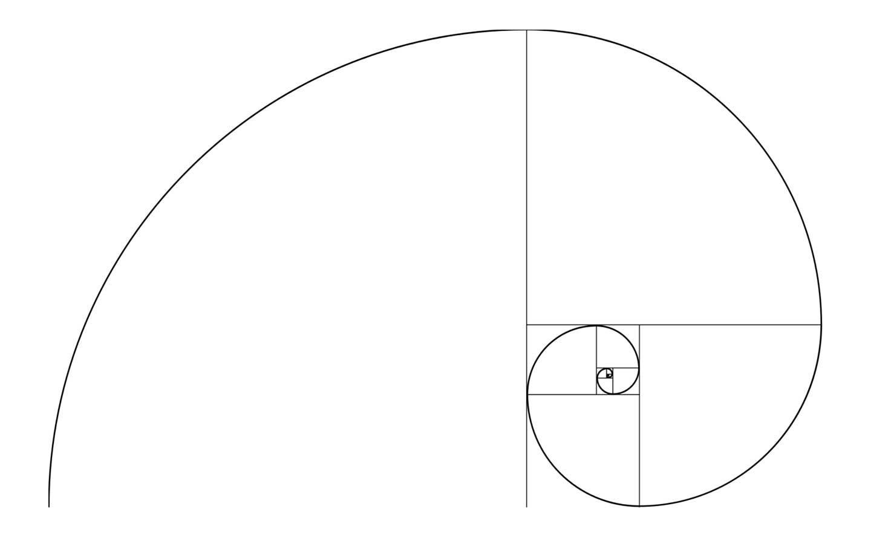 De spiraal van Fibenaci