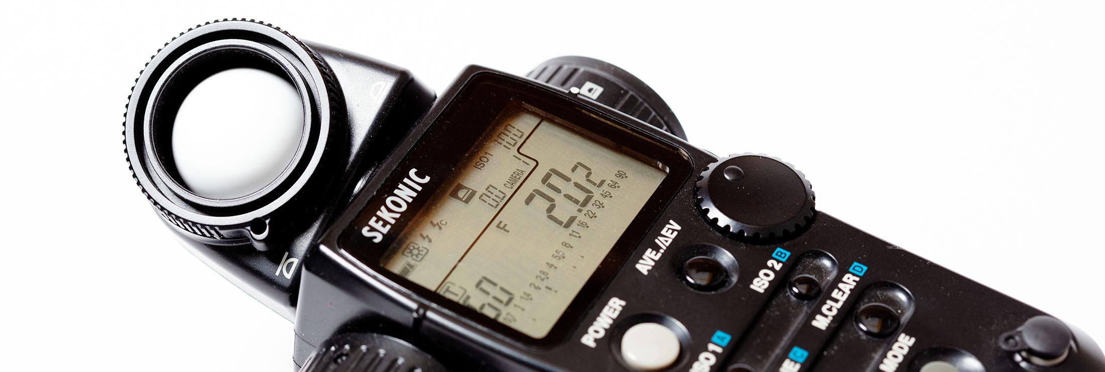 Introfoto Lichtmeter
