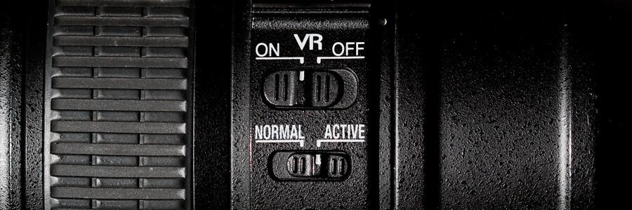 Vibration Reduction op een 70-200