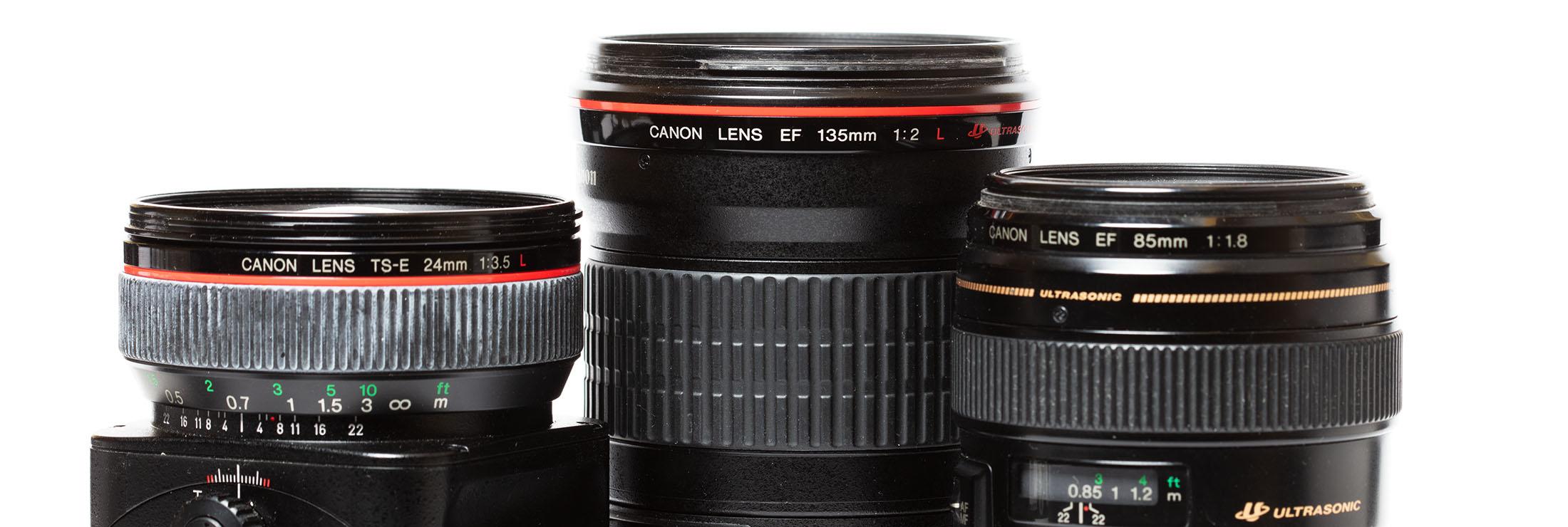 Introfoto Canon objectieven