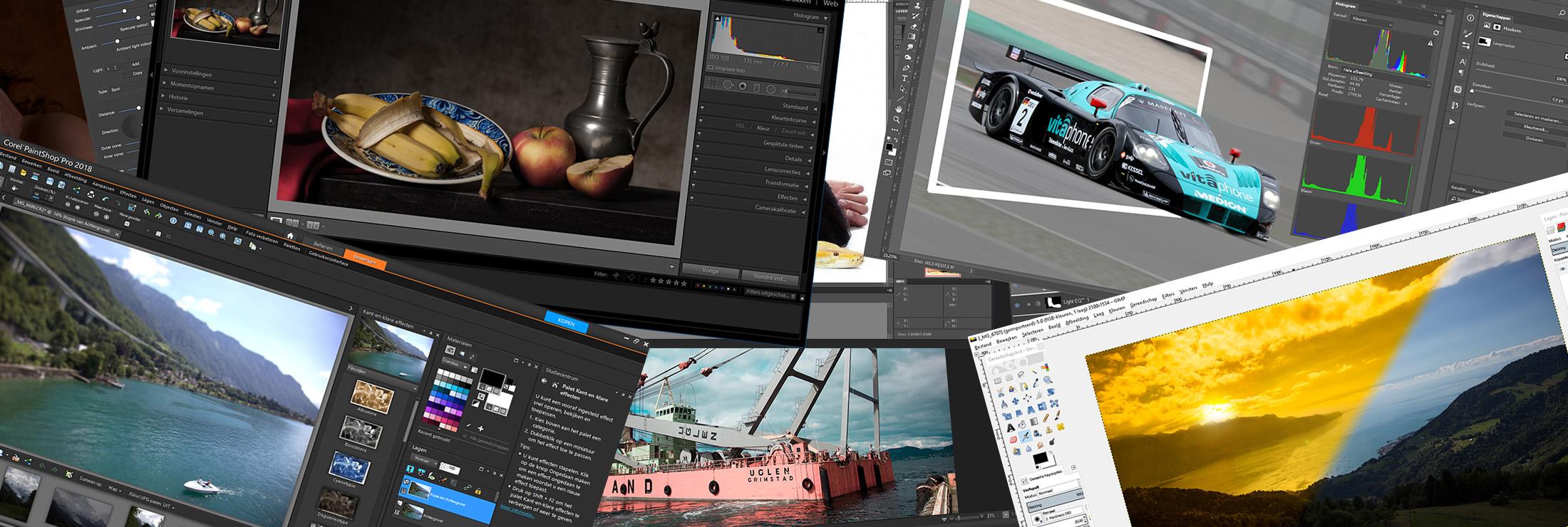 Introfoto De beste bewerkingssoftware voor foto's
