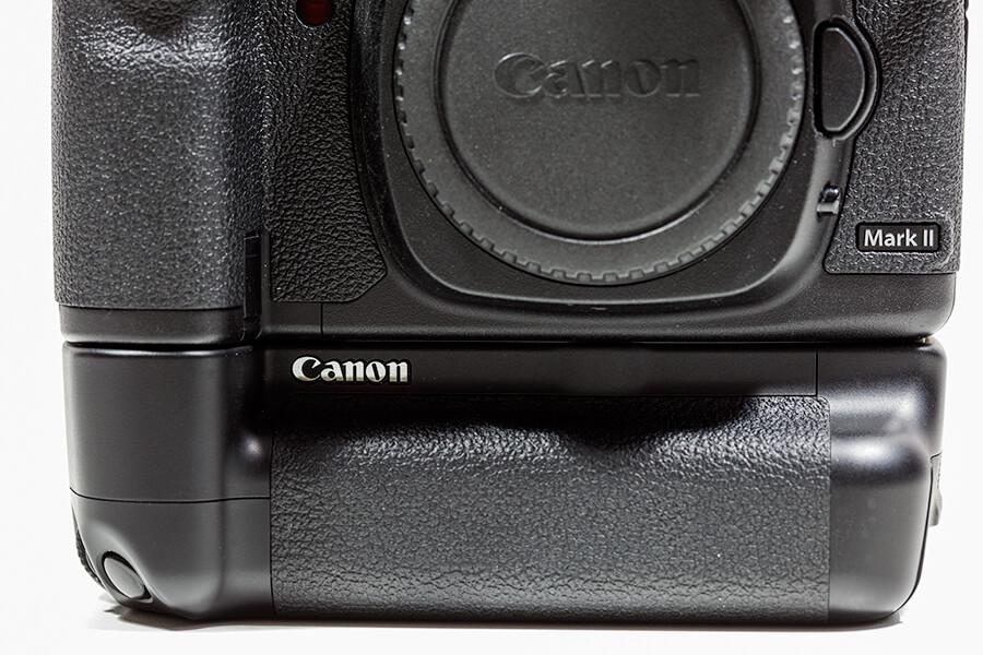 Een grip onder een camera